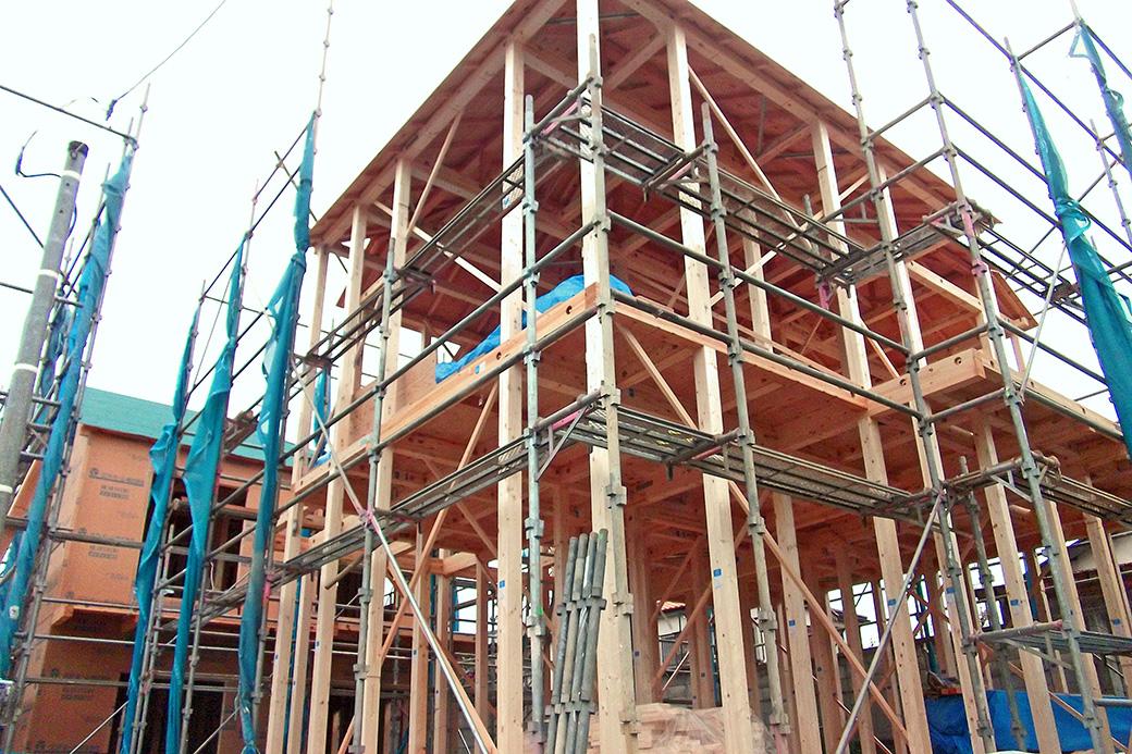 スズタカ建設の新築住宅の工事スタート